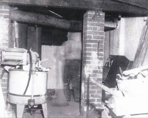 The Basement Ghost Photo