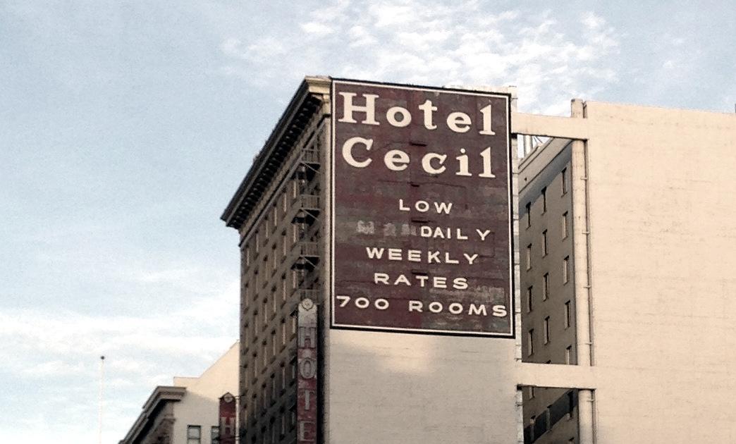 Elisa Lam's death at hotel Cecil
