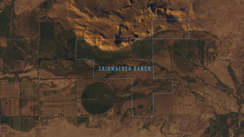 Skinwalker Ranch map