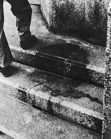 Shadow of Hiroshima Japan