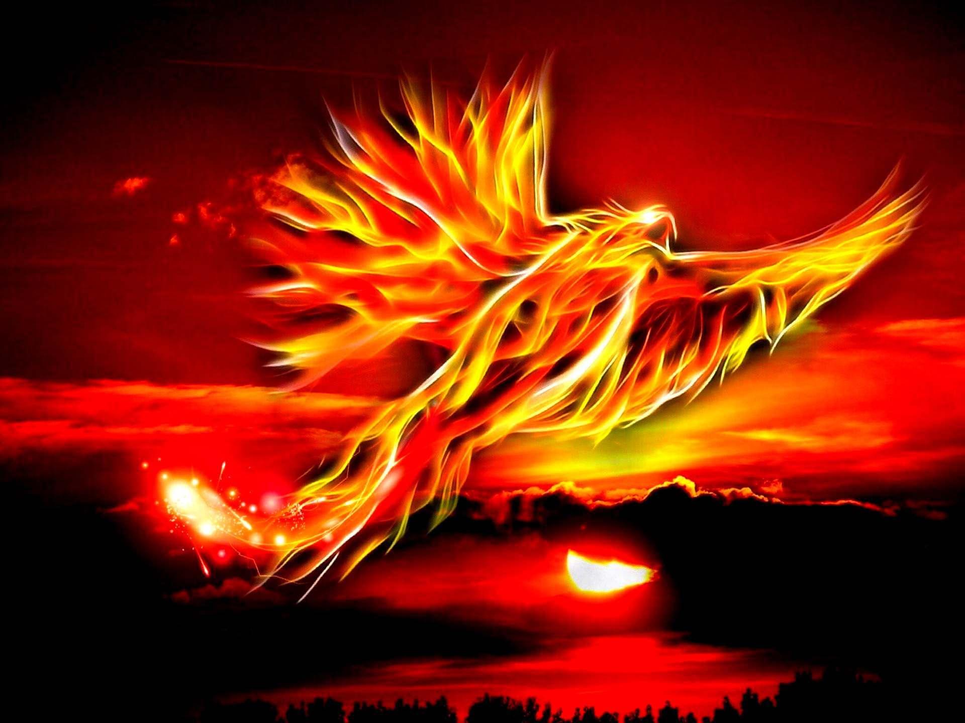 Phoenix bird of immortality immortal Phoenix