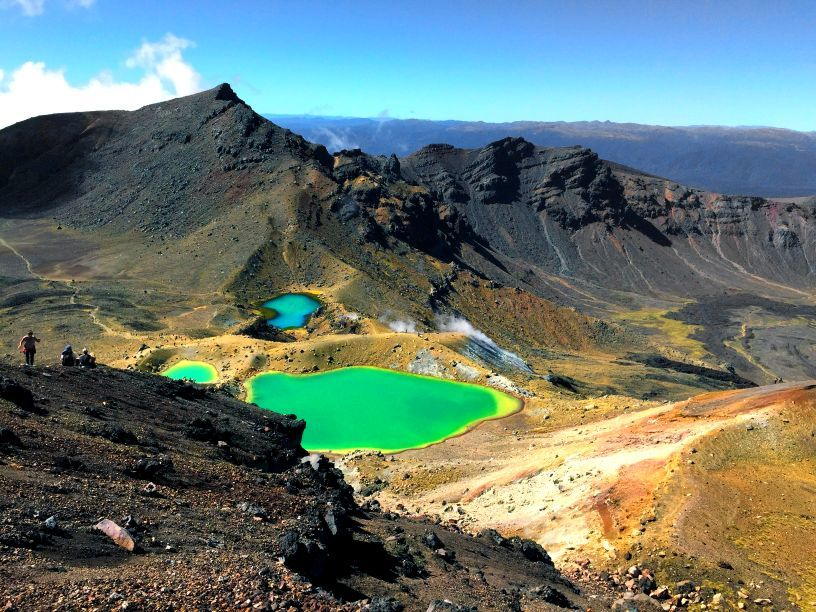 Emerald Lakes, Mt Ruapehu, Tongariro National Park