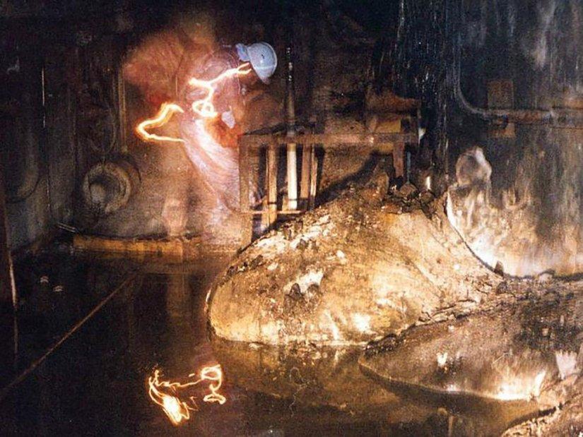 the chernobyl elephant's foot