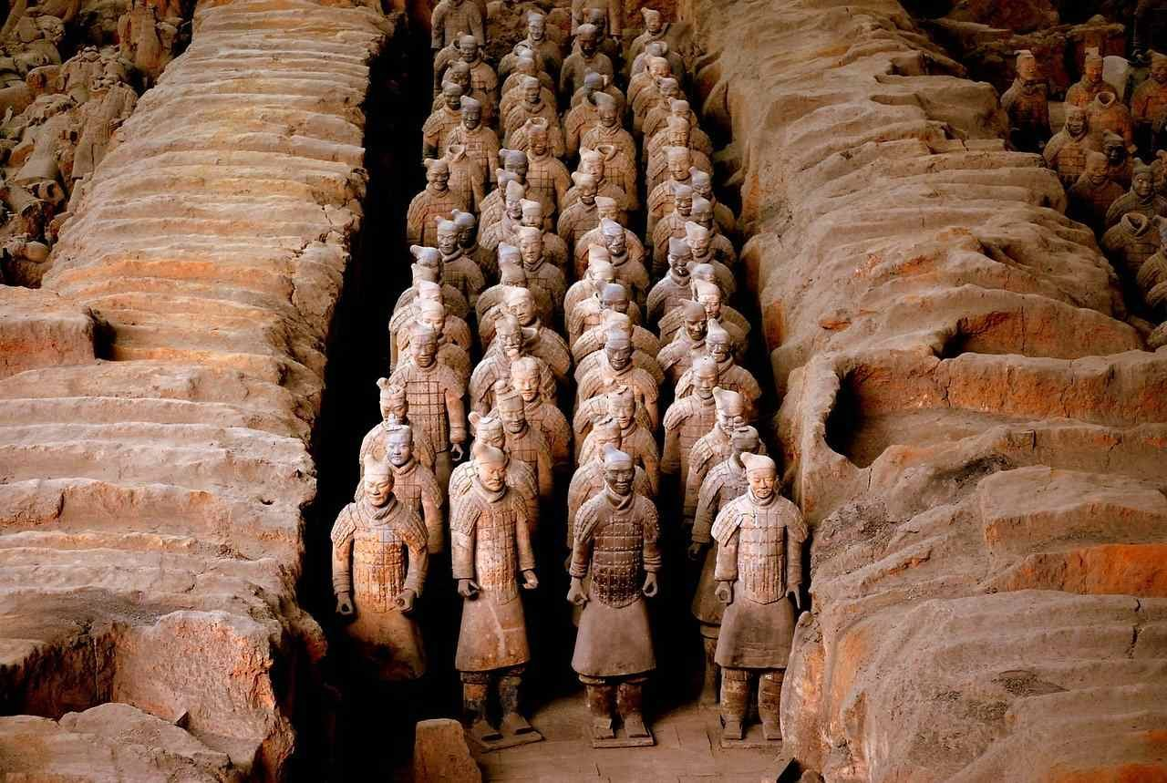 terracotta warriors army qin