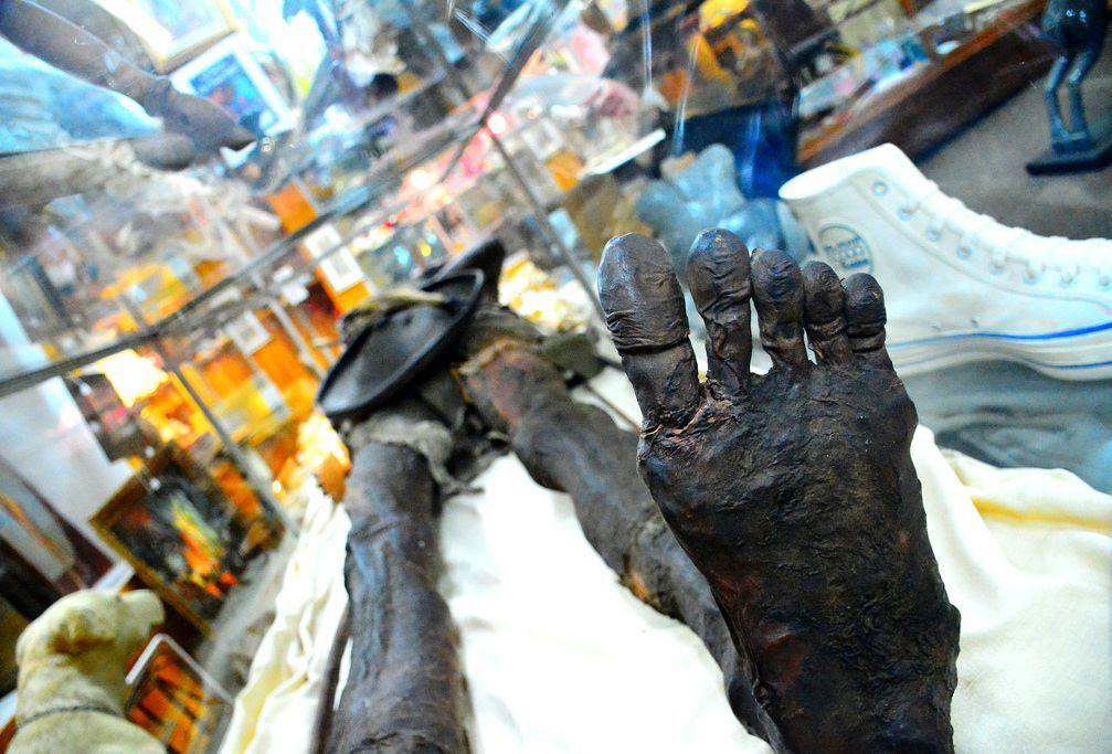 Кап Два: таинственная мумия двуглавого гиганта 8