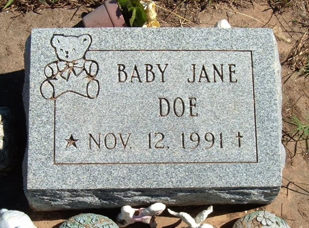 Mother pleaded guilty in baby's death: The Baby Jane Doe's killer is still unidentified 2