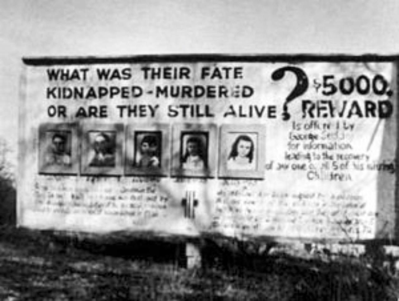 Sodder children billboard