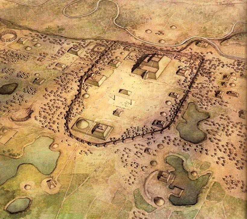Oude stad Cahokia