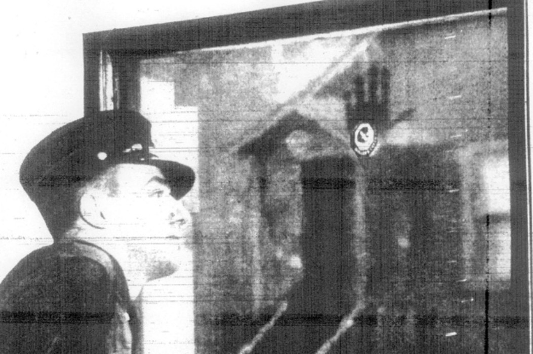 Firefighter Francis Leavy Handprint unsolved mystery
