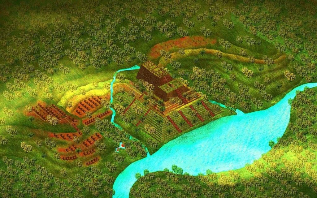 Is the world's oldest pyramid hidden in Mount Padang? 7