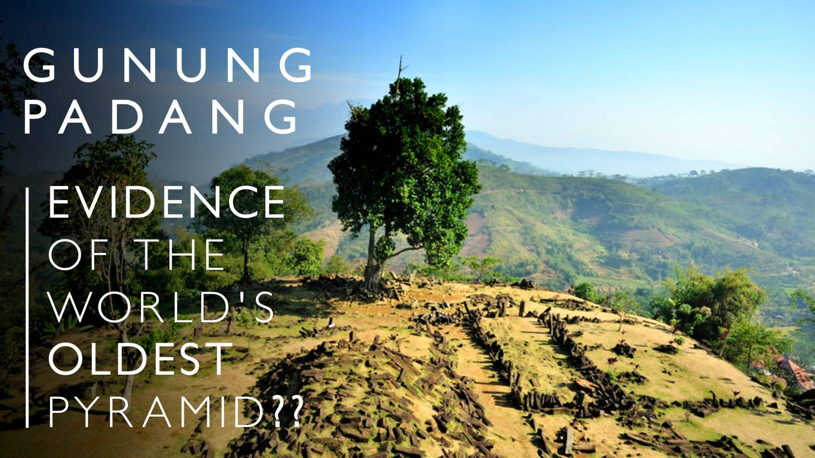 Is the world's oldest pyramid hidden in Mount Padang? 4