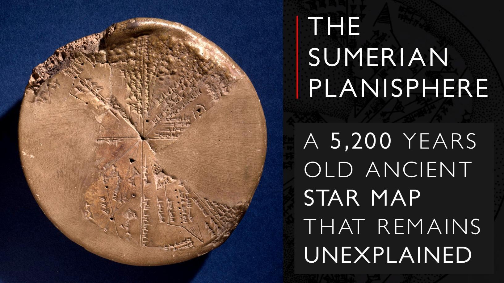 The Sumerian Planisphere
