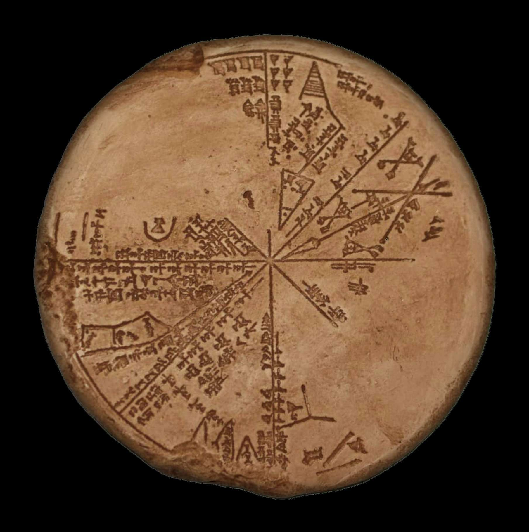 The Sumerian Planisphere | The cuneiform tablet in the British Museum collection No K8538