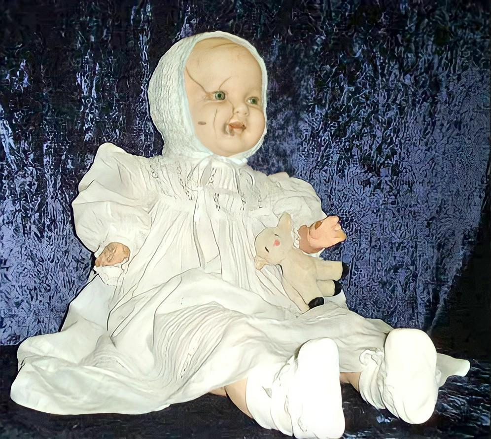 Mandy, The Cracked-Faced Haunted Doll – Canada's Most Evil Antique