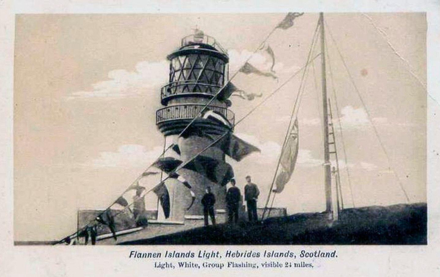 Vuurtoren van Flannan Isles
