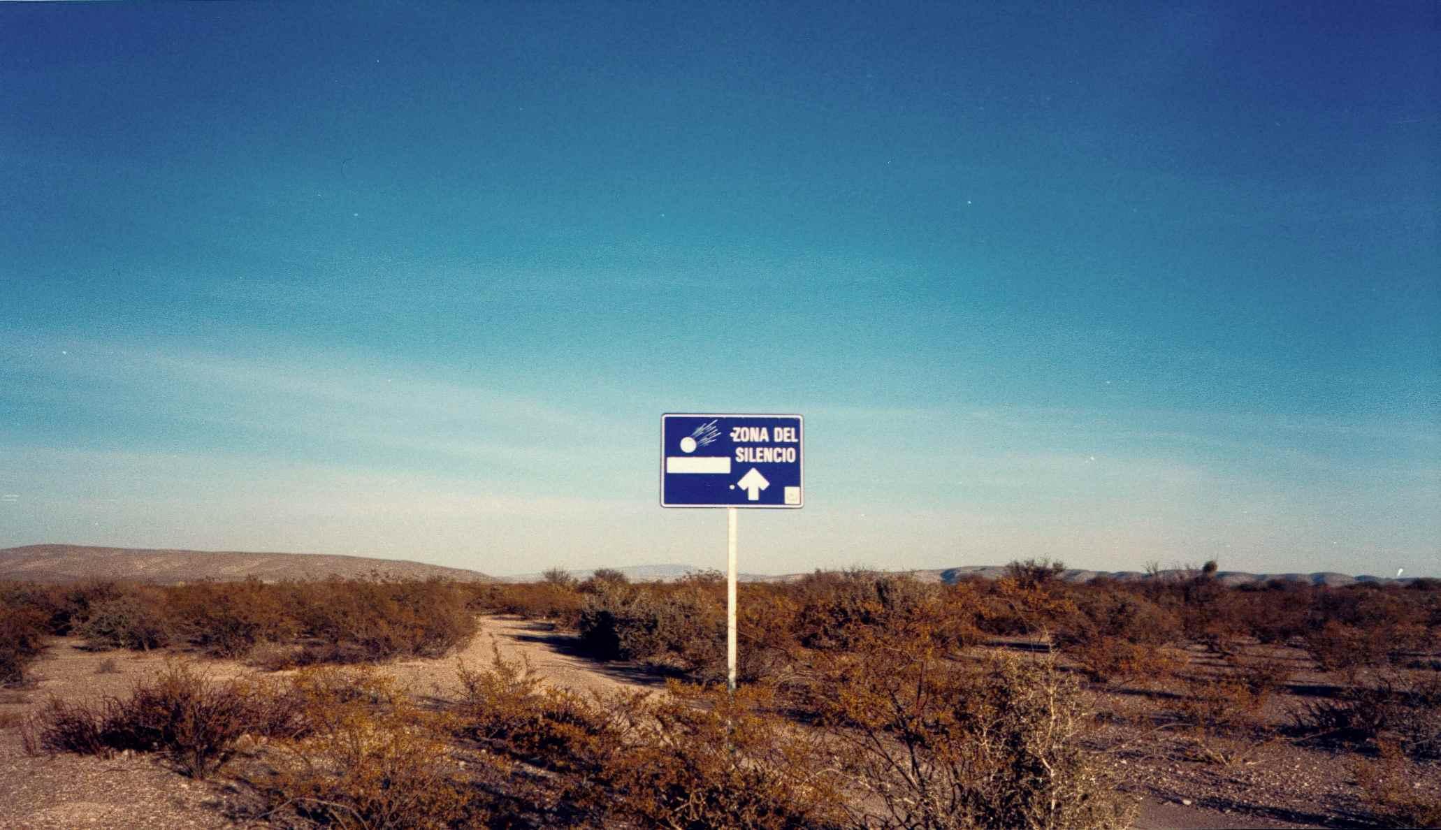 Zone Of Silence, Zona del Silencio, Chihuahua-woestijn, Noord-Mexico