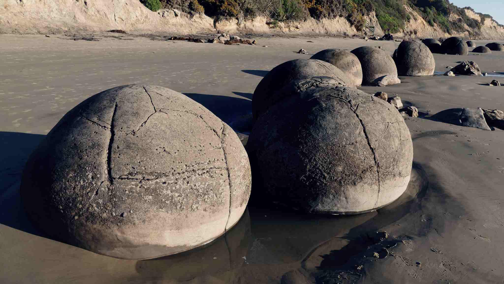 Moeraki keien Otago Nieuw-Zeeland