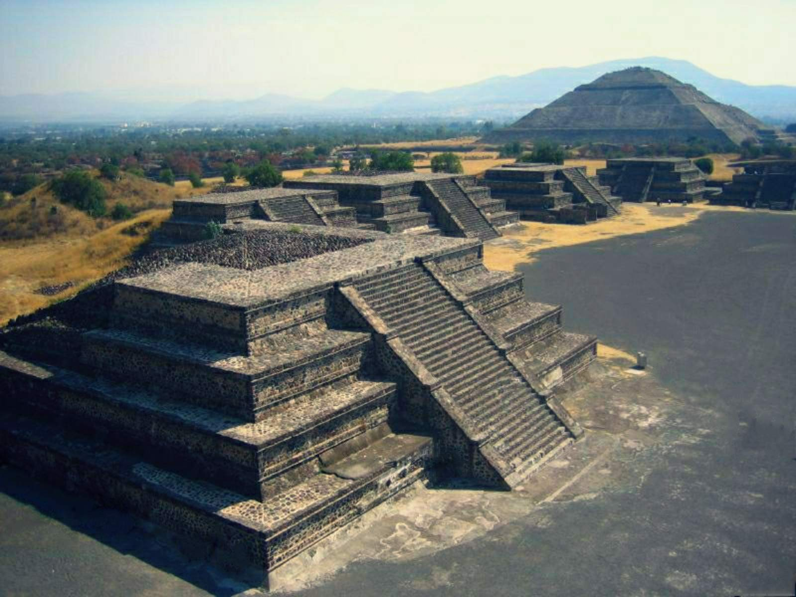Teotihuacan, Mexico-Stad