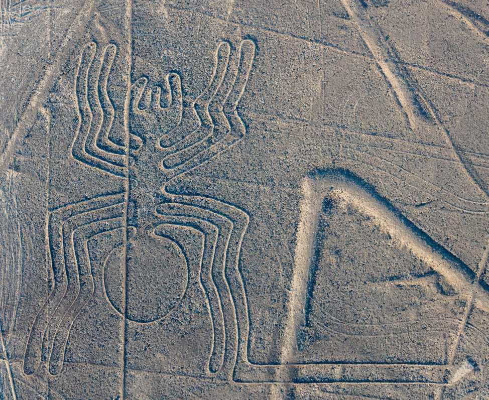 Nazca-lijnen, Nazca-woestijn in Zuid-Peru