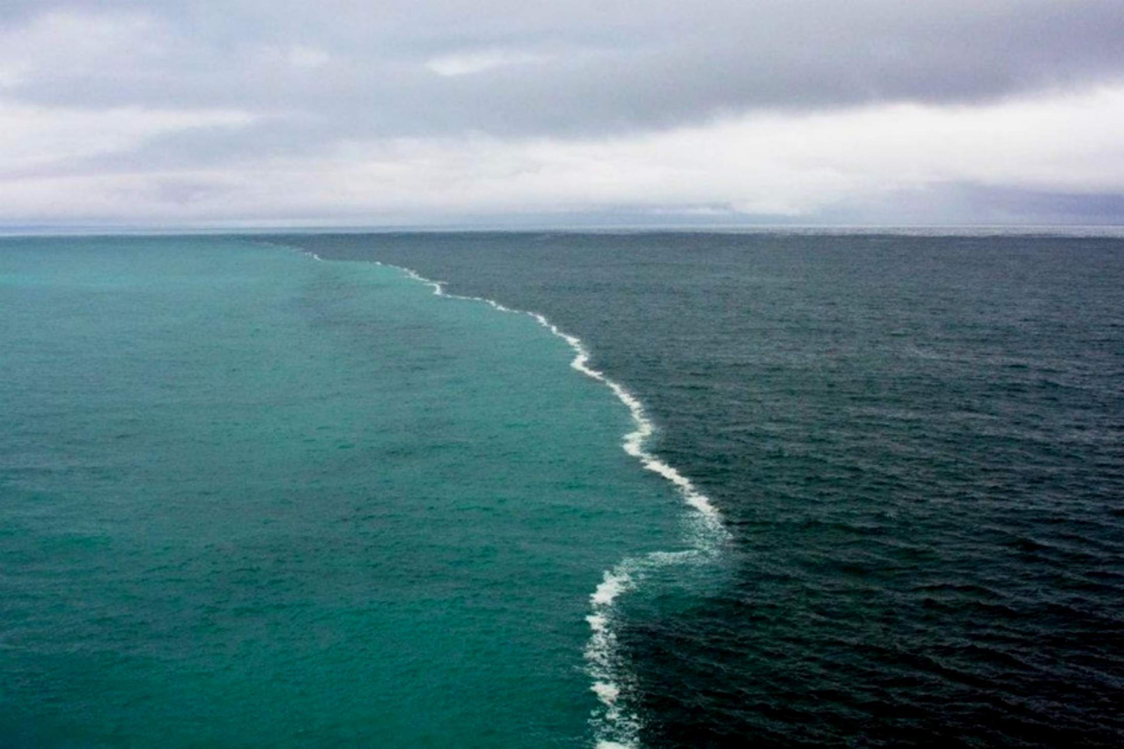 De convergentie van de Oostzee en de Noordzee
