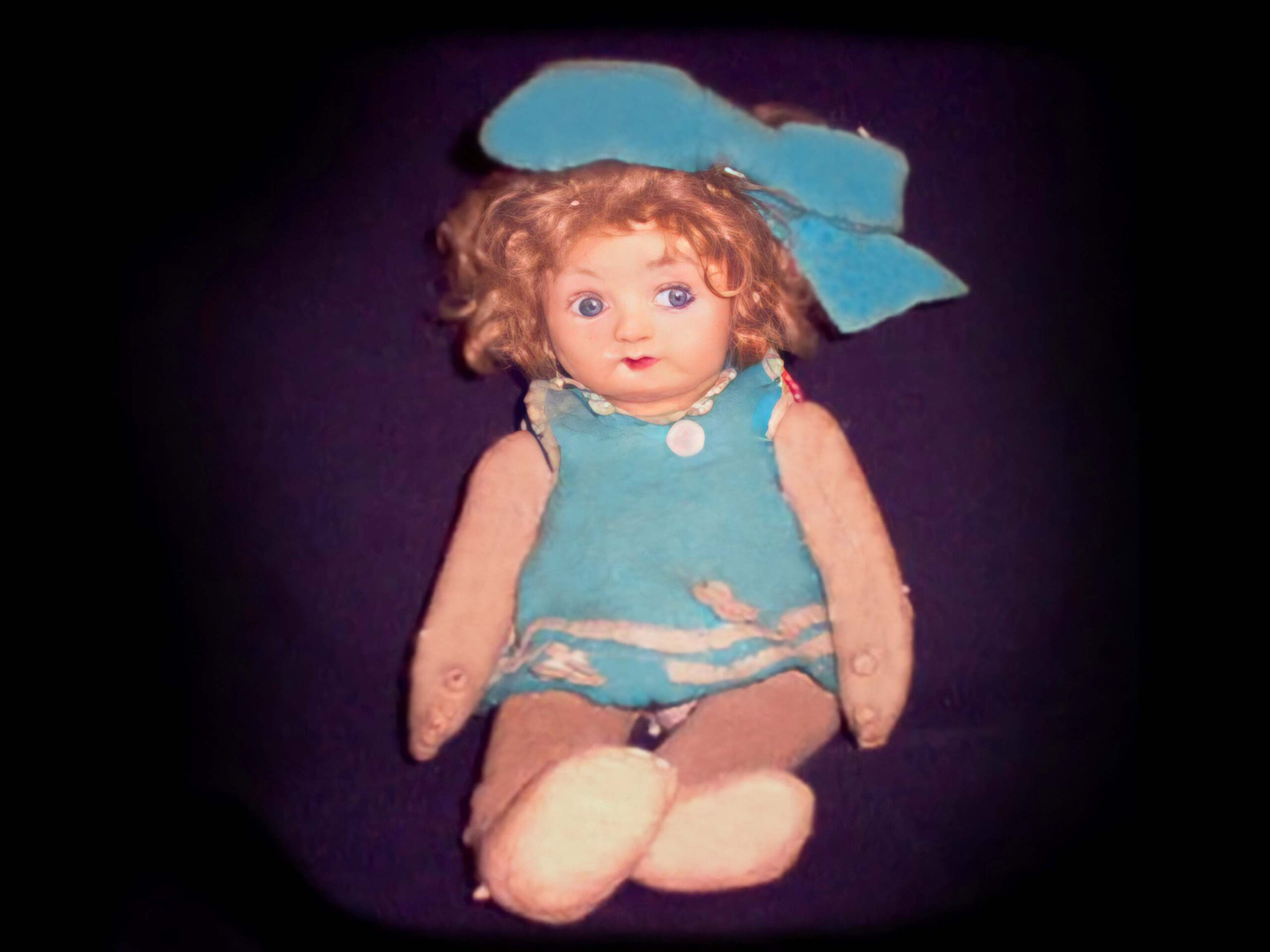 Pupa the Haunted Doll