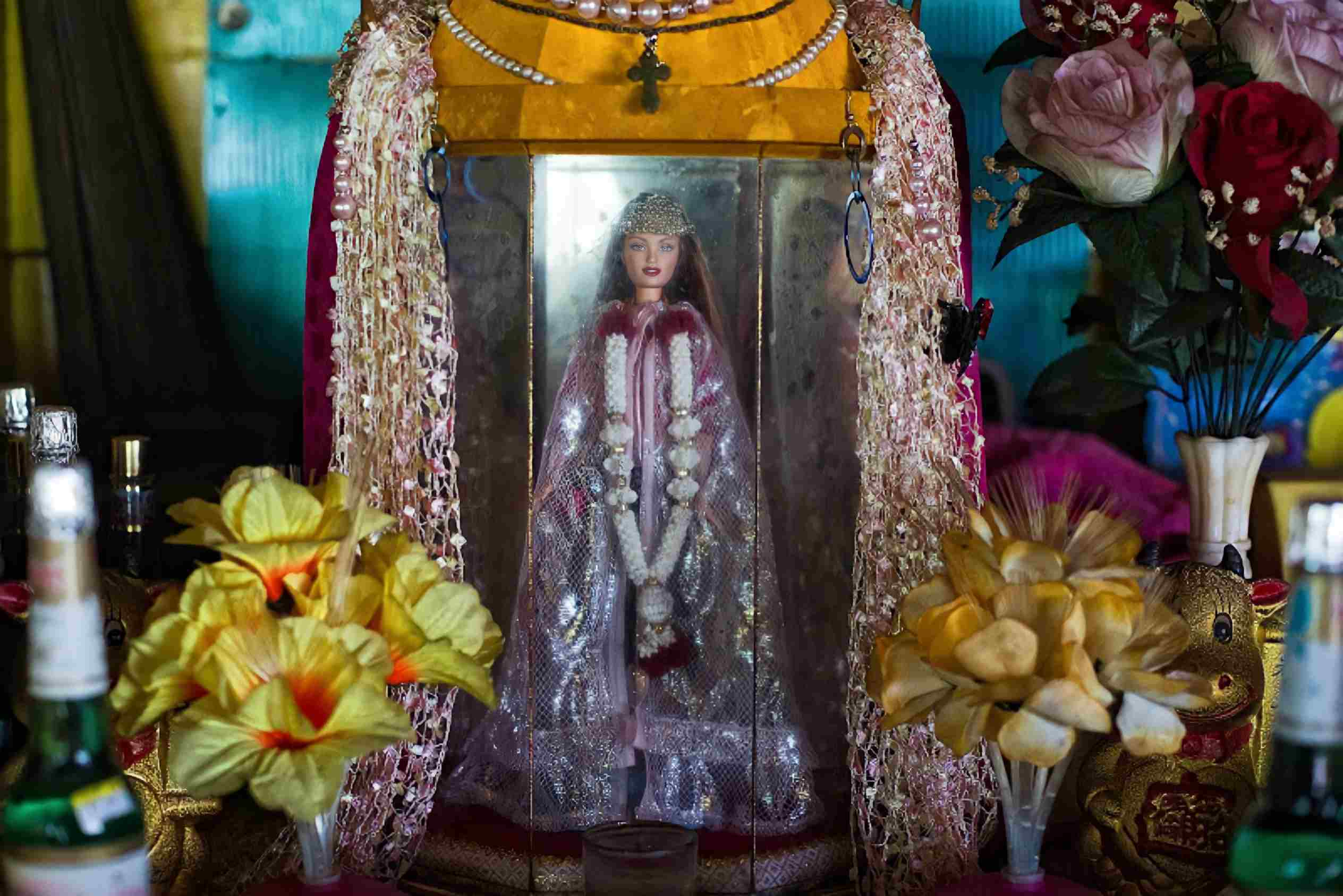 The Pulau Ubin Barbie Doll The German Girl Shrine, Berlin Heilingtum