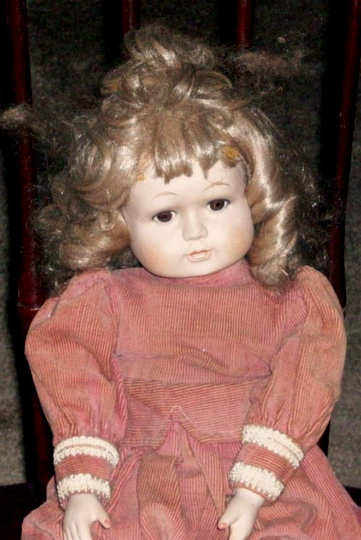 Christina The Peaceful Haunted Doll