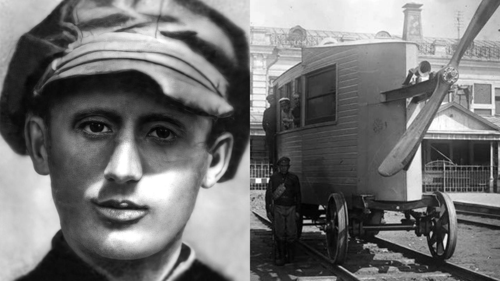 Valerian Abakovsky aerial carriage