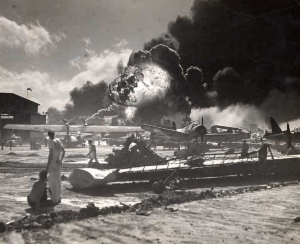Pearl Harbour Explosion