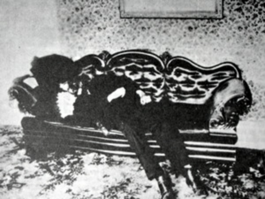 Body of Andrew Borden, August 4, 1892