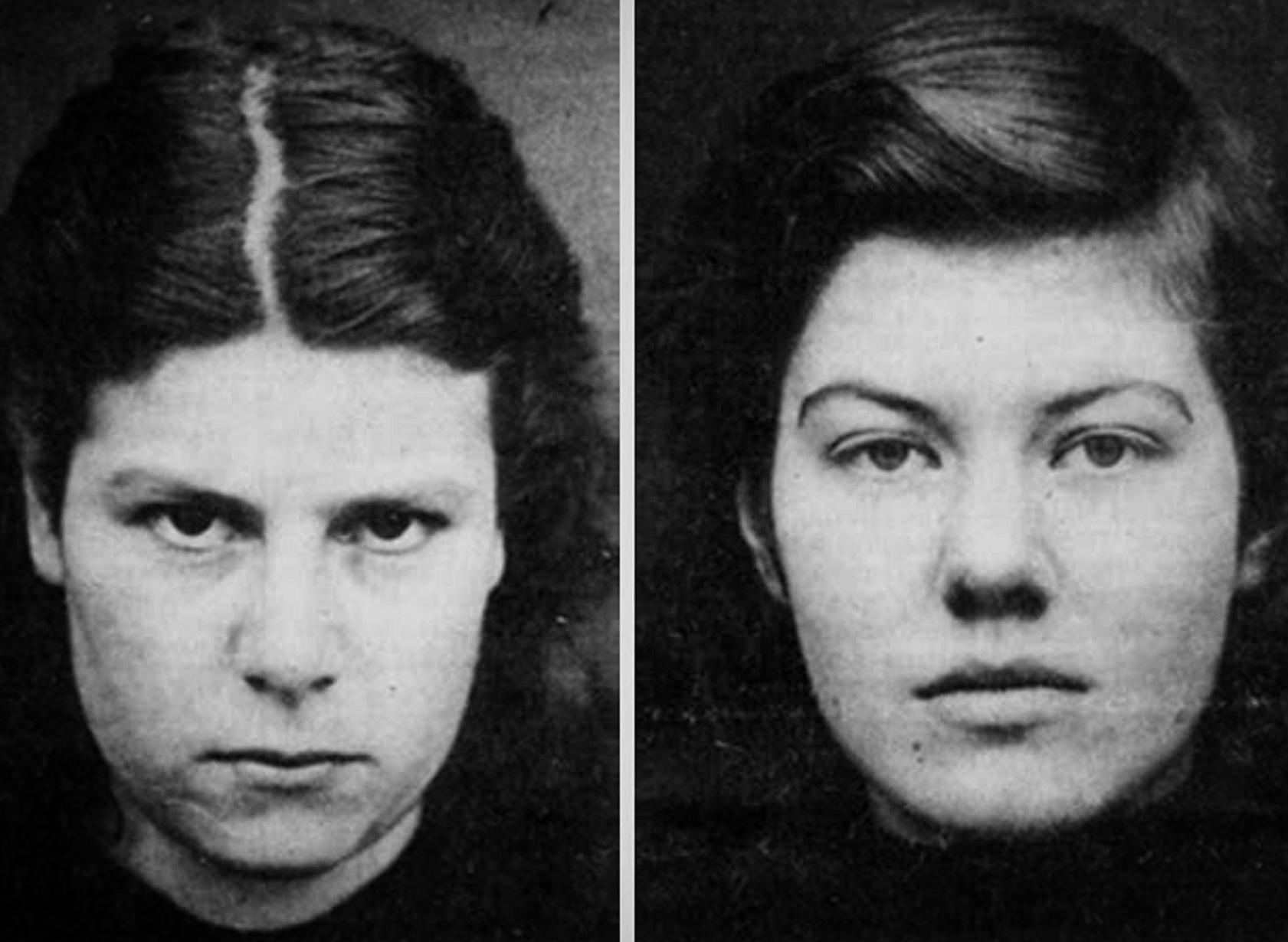 Pauline (left) was 16 at the time of her mother's murder, while Juliet was 15.
