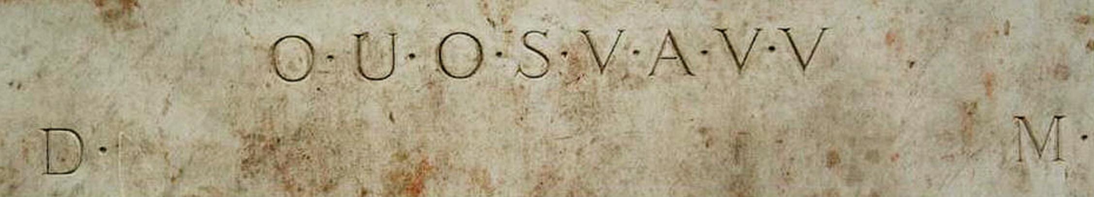 Shugborough-inscriptie