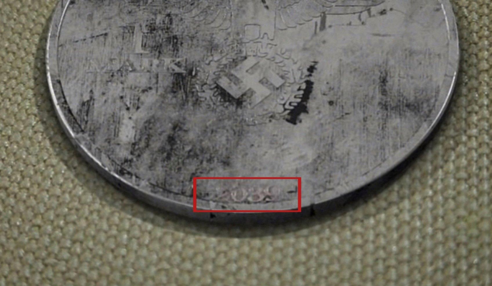 The nazi coin