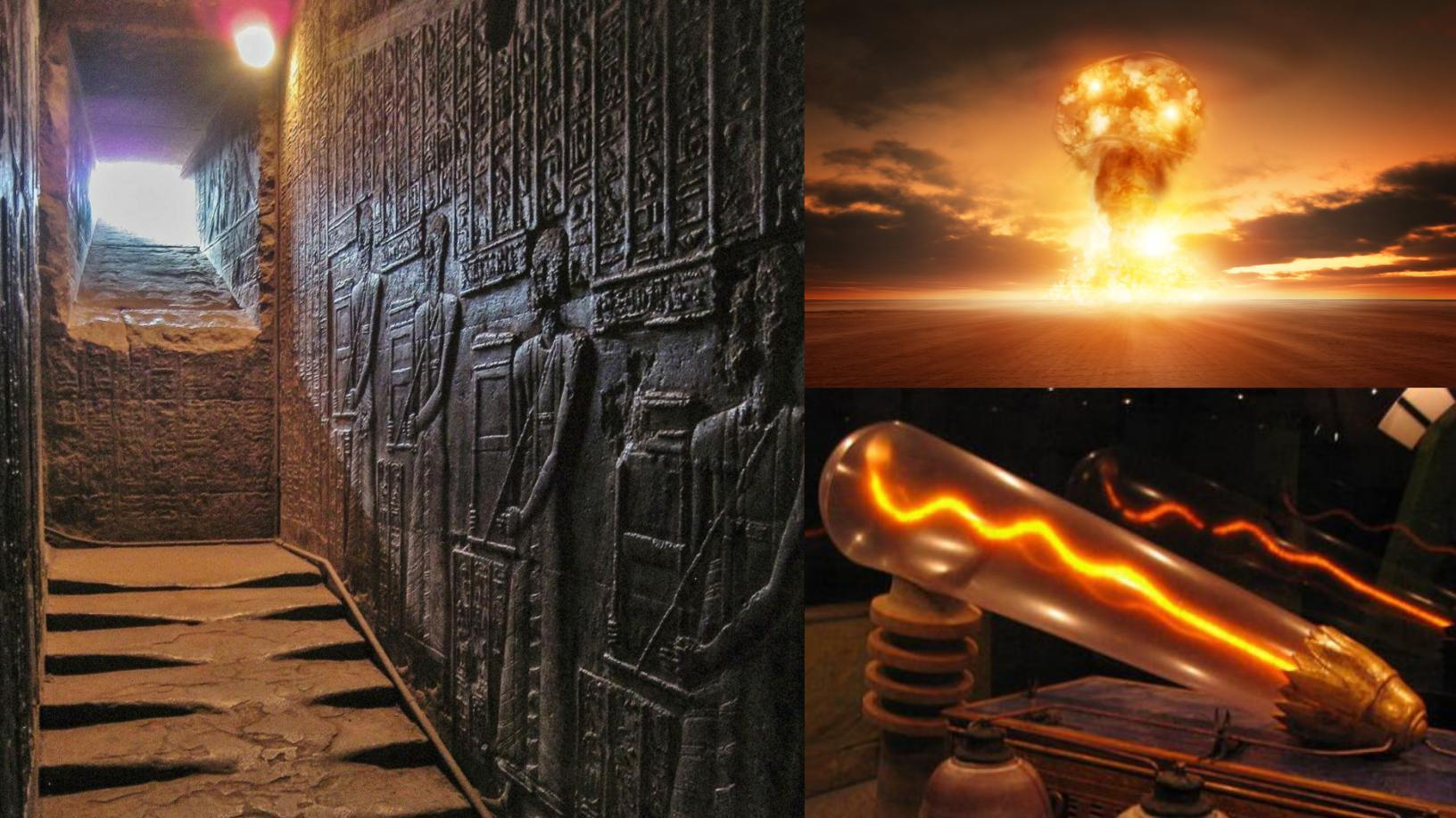 Melted stairs at Hathor Temple: What would have happened in the past? 2