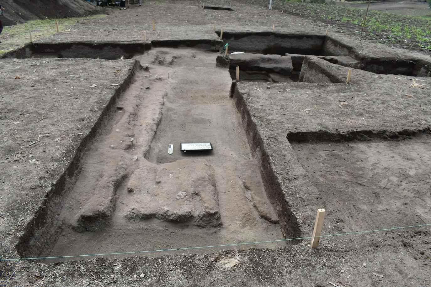 """Tìm thấy ở một """"cánh đồng"""" của người Inca ở Latacunga, trung tâm của Ecuador © EFE / Byron Ortiz / Mulaló - Dự án khảo cổ học Salatilín"""