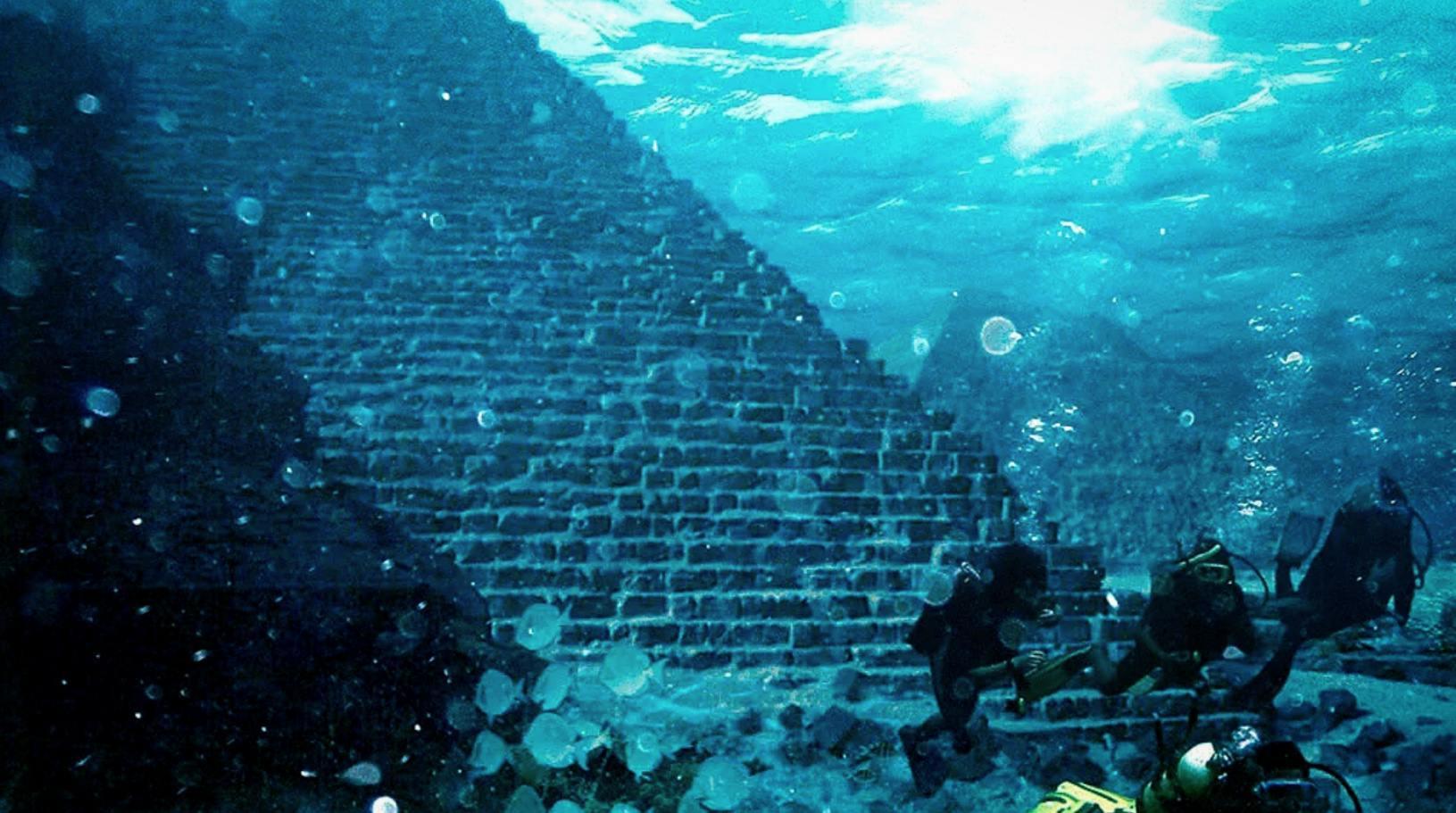 Azores underwater pyramid