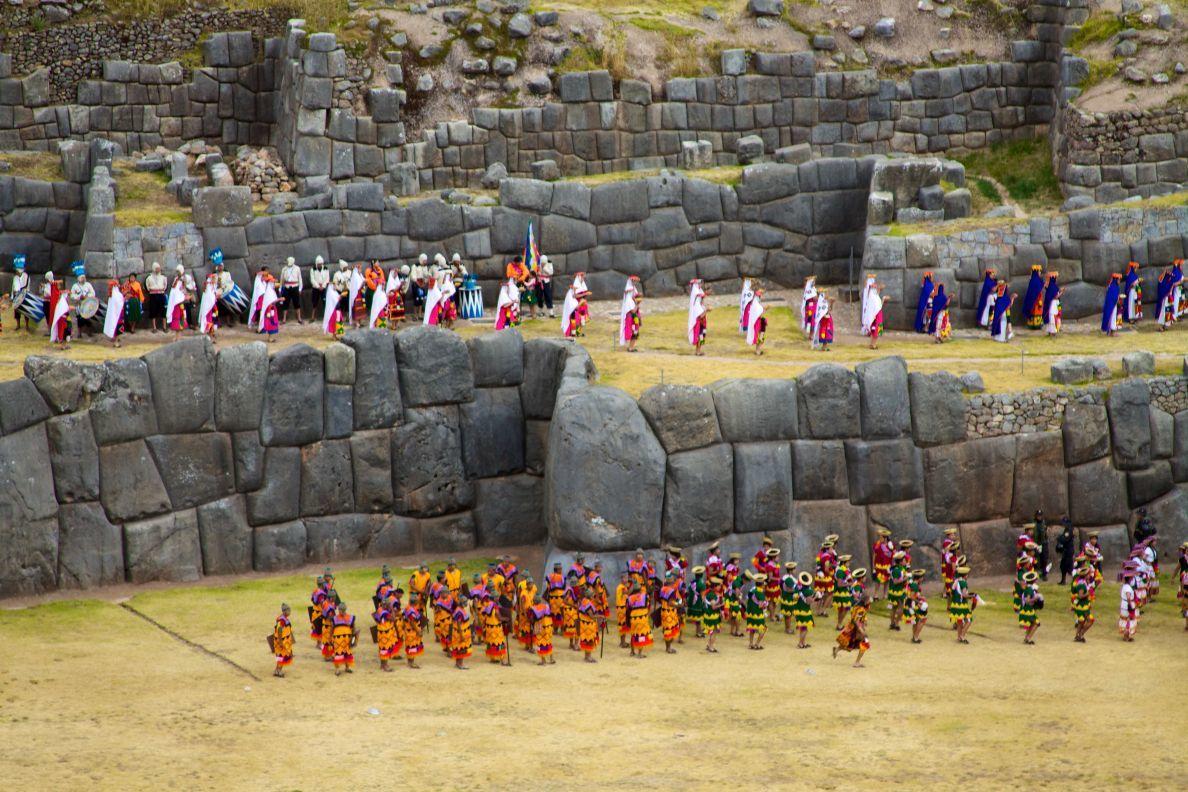Inti Raymi: The festival of the Sun in Cusco, Peru.