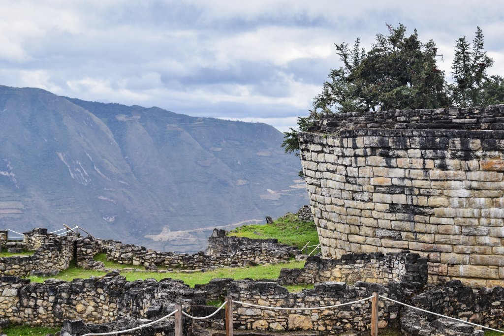 Kuelap is an archaeological site in northern Peru about two hours from Chachapoyas. At about 3,000 meters high, it is where the higher class of the Chachapoya civilization resided starting over a thousand years ago.