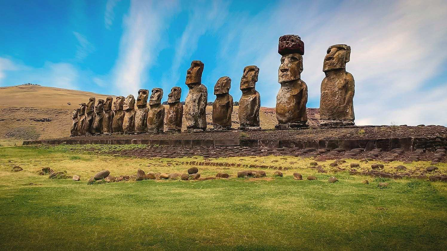Rapanui Society continued after the deforestation of Easter Island 2