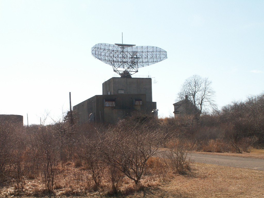 The AN-FPS-35 Radar at Camp Hero State Park in Montauk, New York.