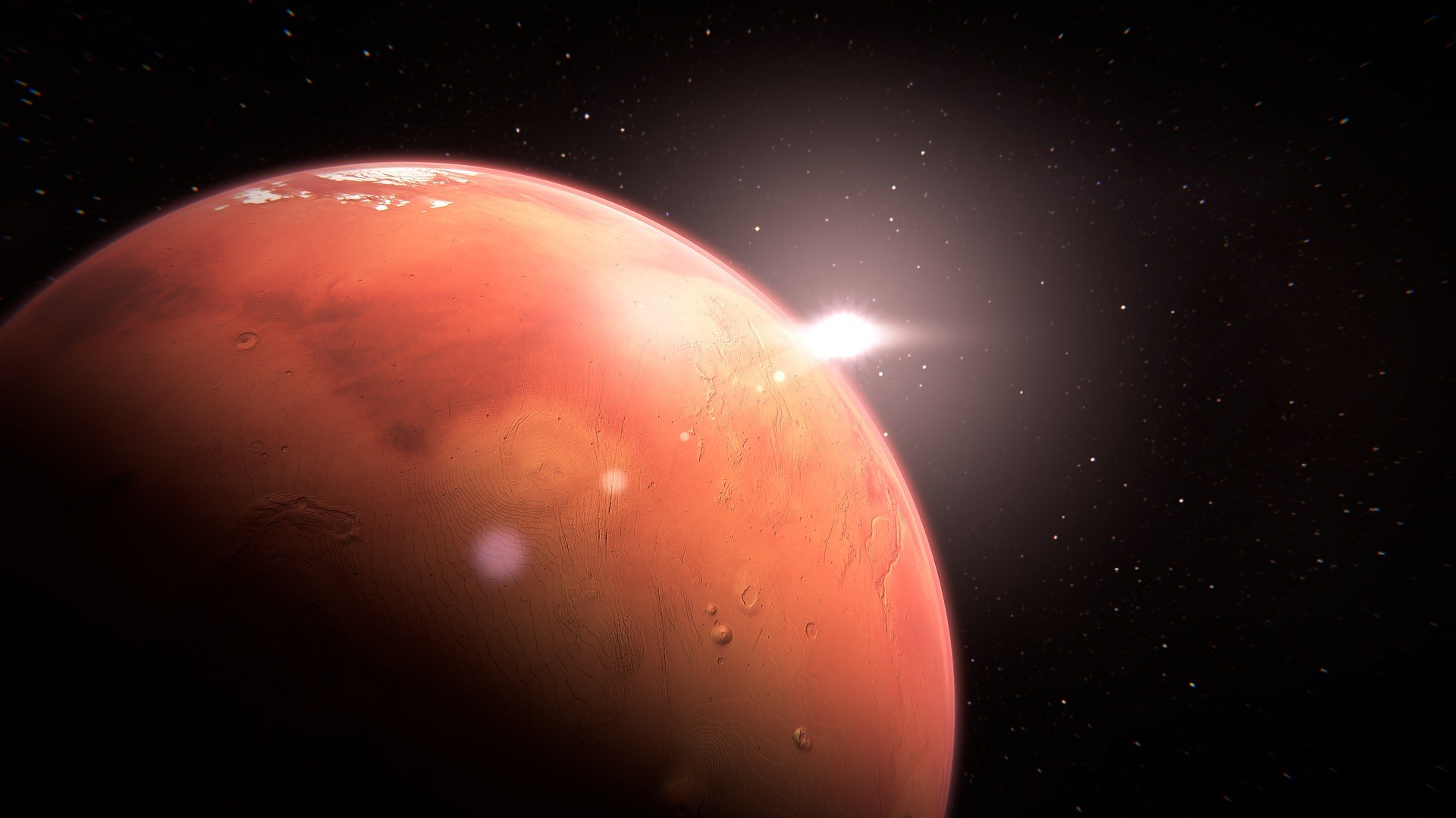 """A mysterious """"wobble"""" is moving the poles of Mars 2"""