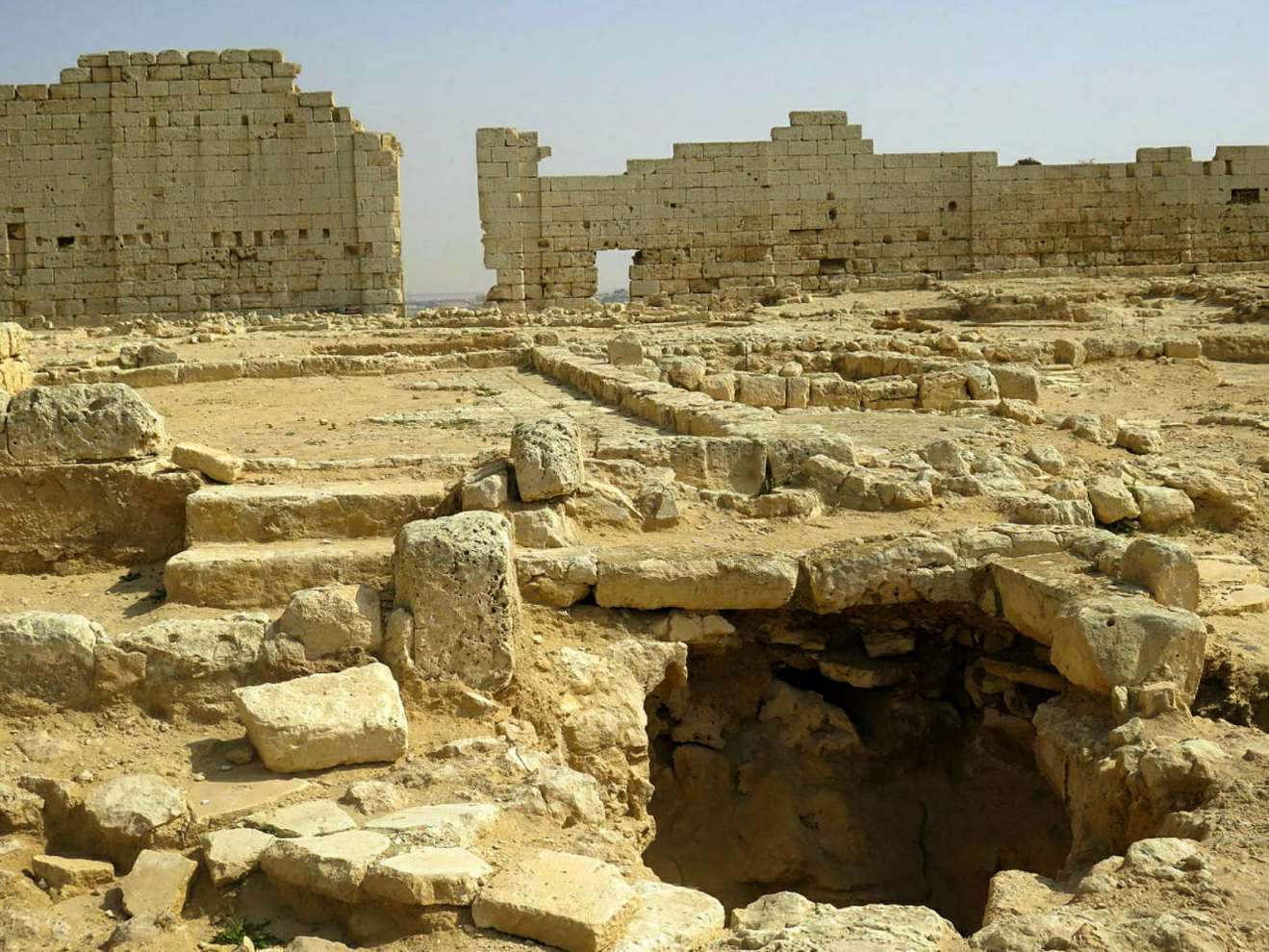 The remains of Taposiris Magna, in Alexandria