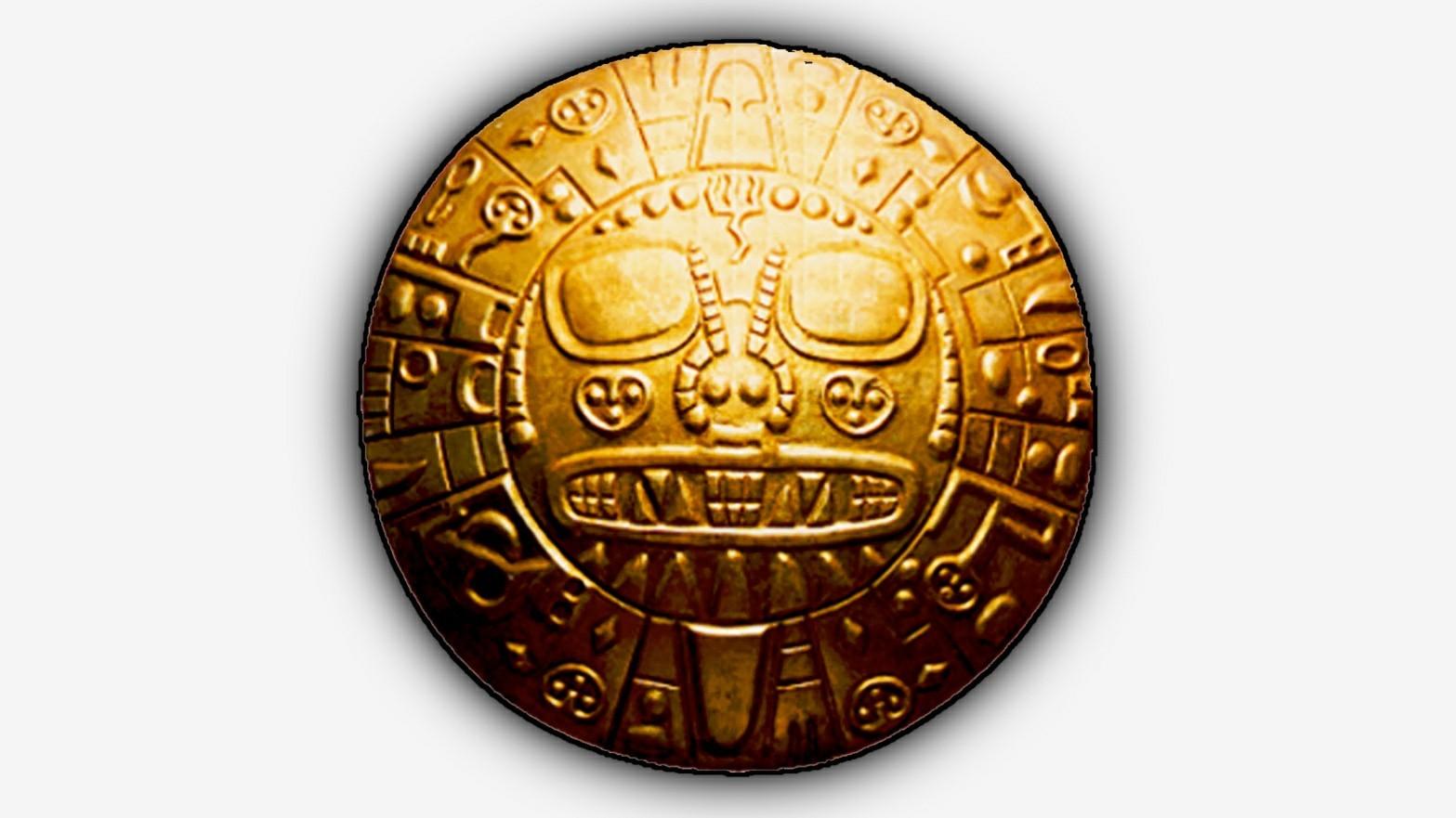 Aramu Muru's Golden Solar Disc