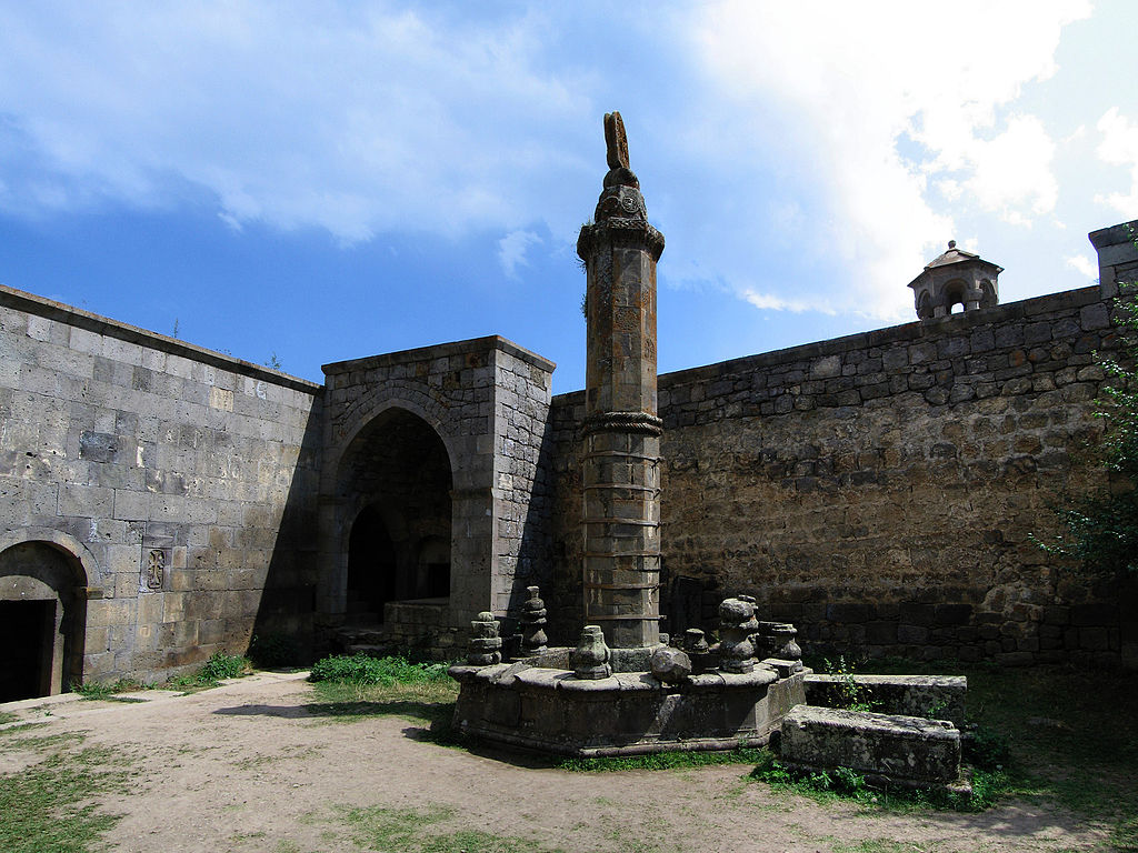 "Tatev Monastery pillar ""Wand"""