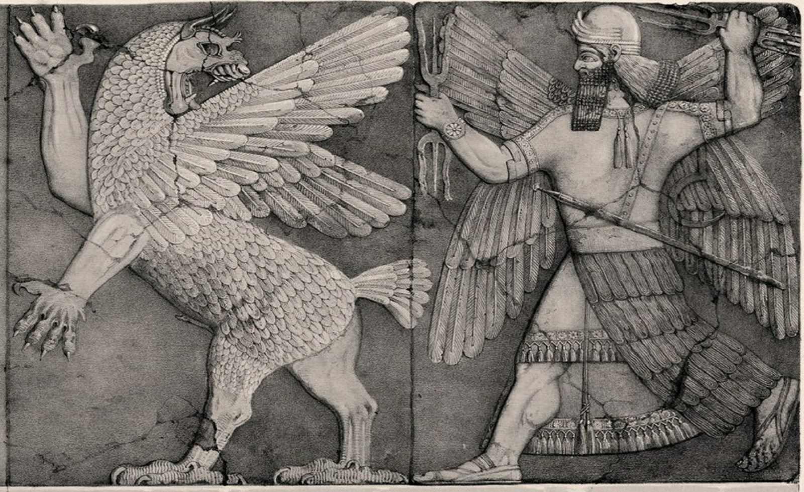 Marduk–the patron god of Babylon
