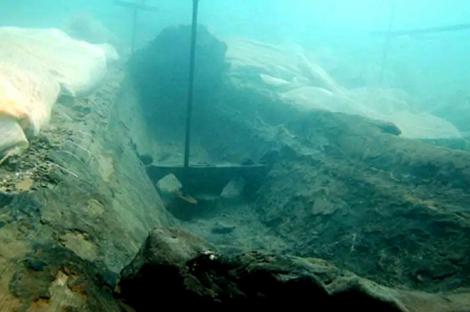 2,600 jaar oud scheepswrak gevonden voor de kust van Sicilië
