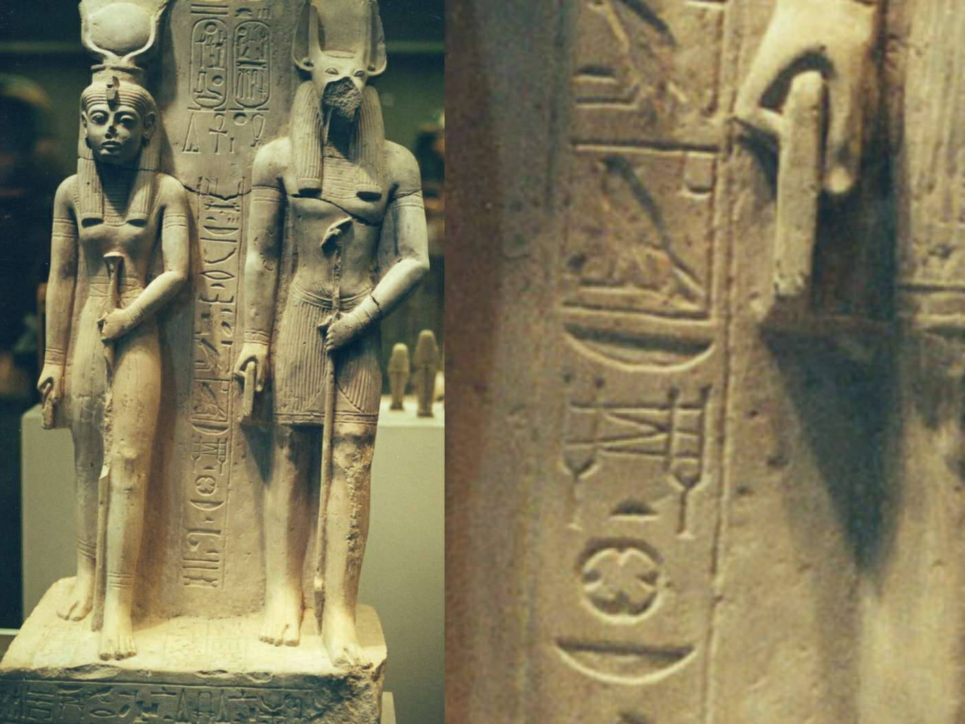 Isis und Anubis