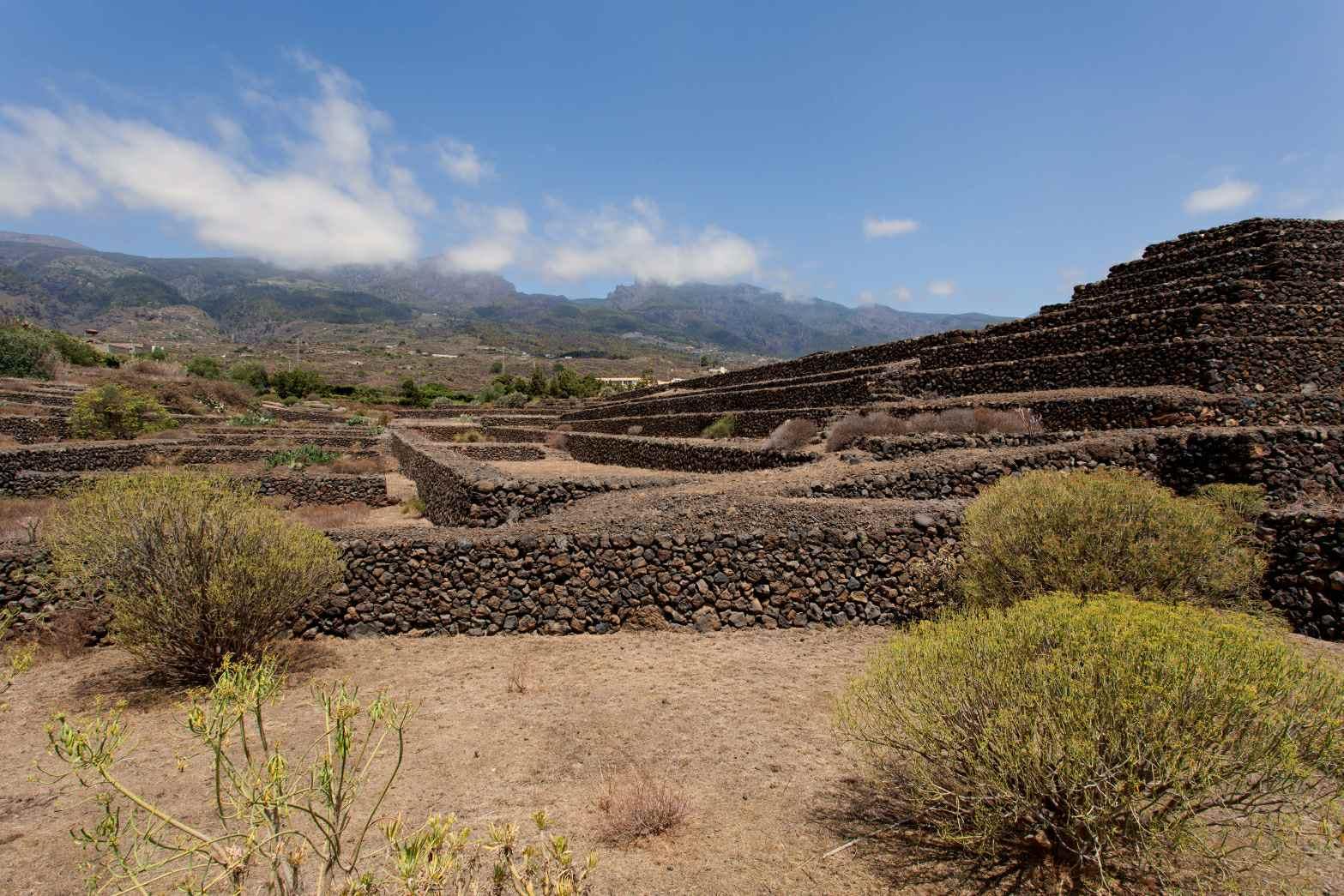 the Canary Island Pyramids