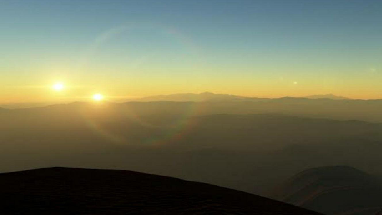 Double sunset