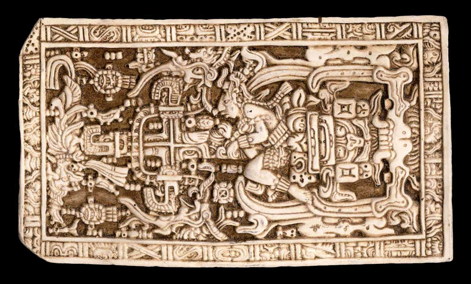 Were the Mayans visited by ancient astronauts? 7